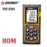 Лазерная рулетка (Дальномер) SNDWAY SW-E80