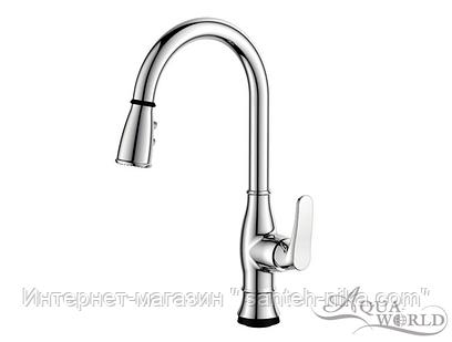 Смеситель для кухни KITСHEN (ТСТ,2-функц.излив) СМ40Кт.16.8 Aqua-World
