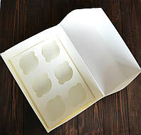 Коробка на 6 капкейков (без окна)