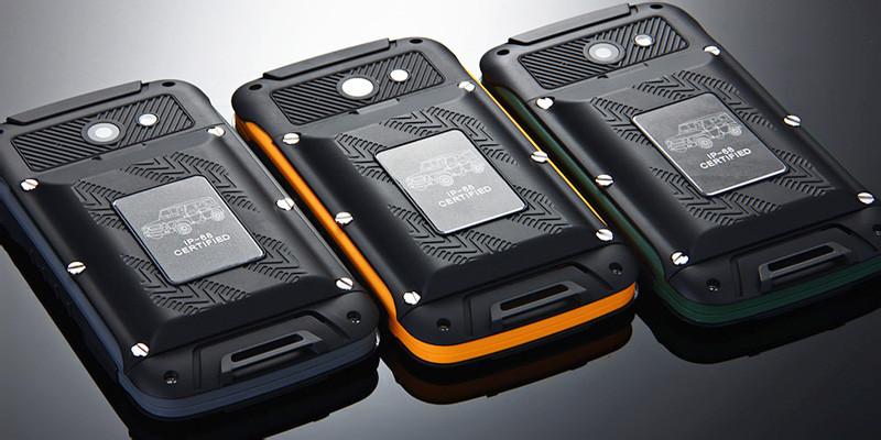 "Смартфон JEEP F605, IP68, 2sim, 12000mAh, экран 4,5"" IPS, 8/2Мп, 0,5/4Gb, 4 ядра, GPS, 3G, Wi-Fi, фото 1"