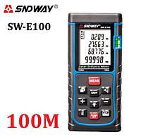 Лазерная рулетка (Дальномер) SNDWAY SW-E100
