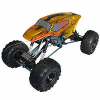 Автомобиль HSP Right Racing Crawler 1:10 RTR 460 мм 4WD 2,4 ГГц (HSP131800 Yellow-Red)