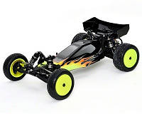 Автомобиль Losi 22 Brushless Buggy 1:10 RTR 388,98 мм 2WD Spektrum DX3E 2,4 ГГц (LOSB0122)