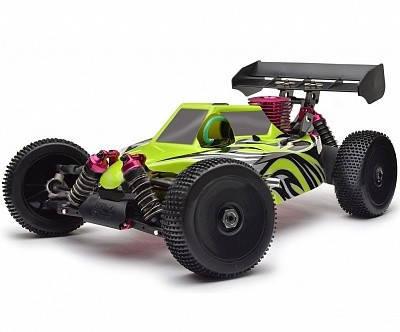 Автомобиль Thunder Tiger EB-4 S2.5 Nitro PRO Buggy 1:8 RTR 490 мм 4WD 2,4 ГГц (6243-F114), фото 2