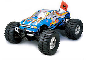 Автомобиль Thunder Tiger MTA-4 S28 Nitro PRO Monster 1:8 RTR 558 мм 4WD 2,4 ГГц (6228-F111)