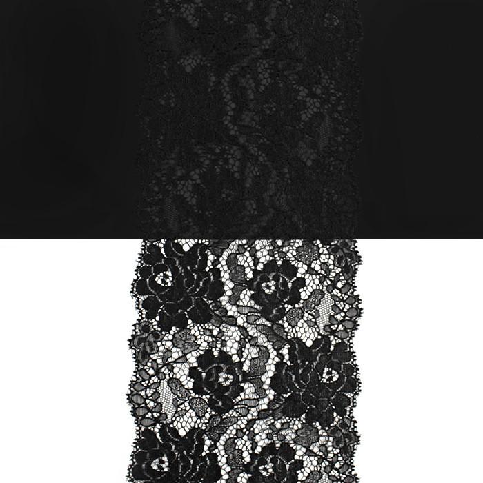 Кружево Франция арт. 464 черный, шир. 13 см.