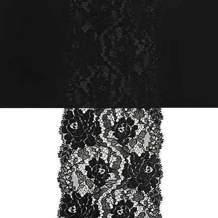 Кружево Франция арт. 464 черный, шир. 13 см., фото 2