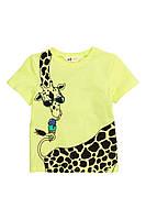 Детская футболка с принтом для мальчика H&M