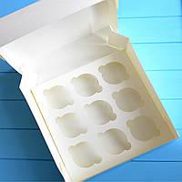 Коробка на 9 капкейков (без окна)