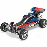 Автомобиль Traxxas Bandit XL-5 Buggy 1:10 RTR 413 мм 2WD 2,4 ГГц (24054-1 Blue)
