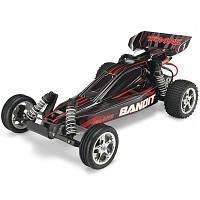Автомобиль Traxxas Bandit XL-5 Buggy 1:10 RTR 413 мм 2WD 2,4 ГГц (24054-1 Black)