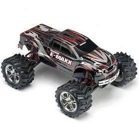 Автомобиль Traxxas E-Maxx EVX Monster 1:10 RTR 518 мм 4WD 2,4 ГГц (39036-1 Black)