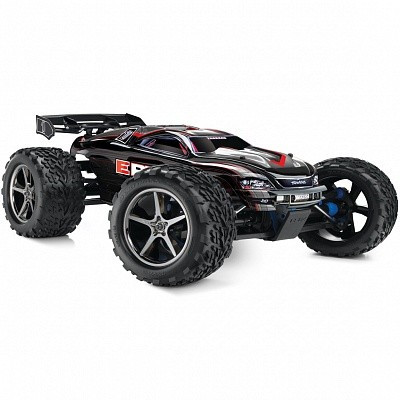 Автомобиль Traxxas E-Revo Monster 1:10 RTR 582 мм 4WD 2,4 ГГц (56036-1 Black)