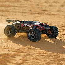 Автомобиль Traxxas E-Revo VXL Brushless Monster 1:16 RTR 328 мм 4WD TSM 2,4 ГГц (71076-3 Red), фото 3