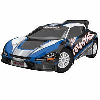 Автомобиль Traxxas Rally Racer VXL Brushless 1:10 RTR 552 мм 4WD TSM 2,4 ГГц (74076-3 Blue)