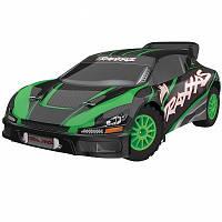 Автомобиль Traxxas Rally Racer VXL Brushless 1:10 RTR 552 мм 4WD TSM 2,4 ГГц (74076-3 Green)
