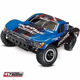 Автомобиль Traxxas Slash Short Course 1:10 RTR 568 мм OBA 2WD 2,4 ГГц (58034-2 Blue), фото 2