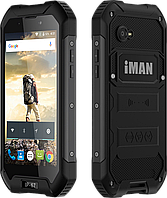 "IMAN X5, IP67, 1/8 GB, 3000 мАч, 5 Mpx, 4 ядра, Gorilla Glass 3, кнопка SOS, дисплей 4.5""."