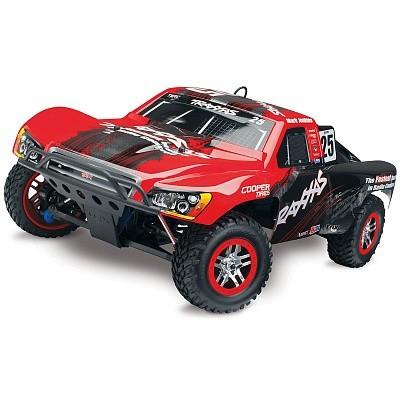 Автомобиль Traxxas Slayer Pro 4X4 Nitro Short Course 1:10 RTR 598 мм 4WD 2,4 ГГц (59076-1 Red)