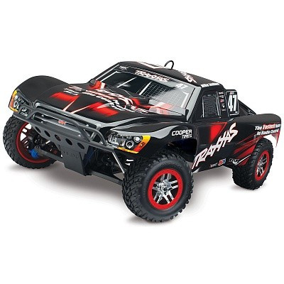 Автомобиль Traxxas Slayer Pro 4X4 Nitro Short Course 1:10 RTR 598 мм 4WD 2,4 ГГц (59076-1 Black)