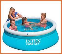 Надувной бассейн Intex 28101 (54402) | Семейный Easy Set 183 х 51 см