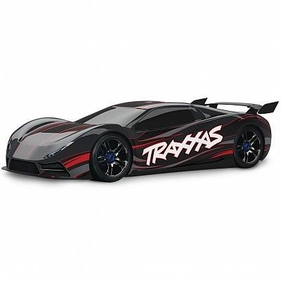 Автомобиль Traxxas XO-1 Brushless 1:7 RTR 686 мм 4WD 2,4 ГГц (64077 Black)