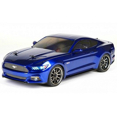 Автомобиль Vaterra 2015 Ford Mustang V100-S 1:10 4WD RTR 371 мм Spektrum DX2E 2,4 ГГц (VTR03054)