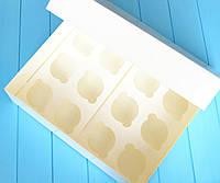 Коробка на 12 капкейков (без окна)