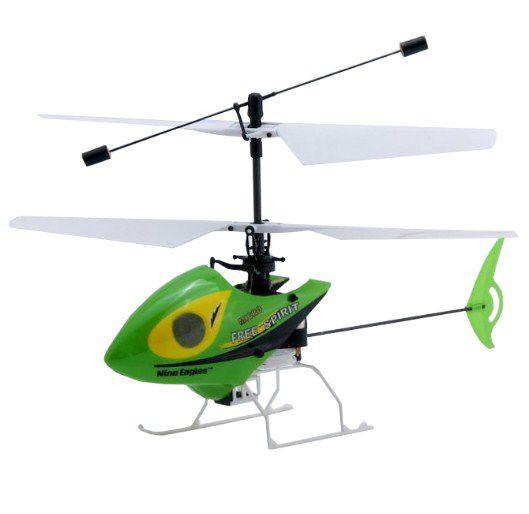 Вертолет Nine Eagles Free Spirit Micro RTF 213 мм 2,4 ГГц в кейсе (NE30221024247 in case)