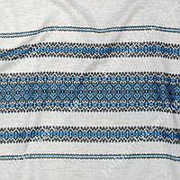Ткань для штор с украинским орнаментом Кети ТДК-75 1/2