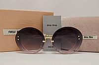 Солнцезащитные очки Miu Miu SMU 55 R Розовый цвет
