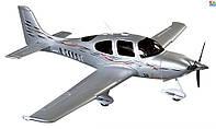 Самолет Dynam Cirrus SR22 Brushless RTF 1400 мм 2,4 ГГц (DY8936-Silver RTF)