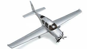 Самолет Dynam Cirrus SR22 Brushless RTF 1400 мм 2,4 ГГц (DY8936-Silver RTF), фото 2