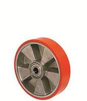 Колесо для гидравлических тележек и рокл без кронштейна с шариковым подшипником (серия 56),диаметр-160мм