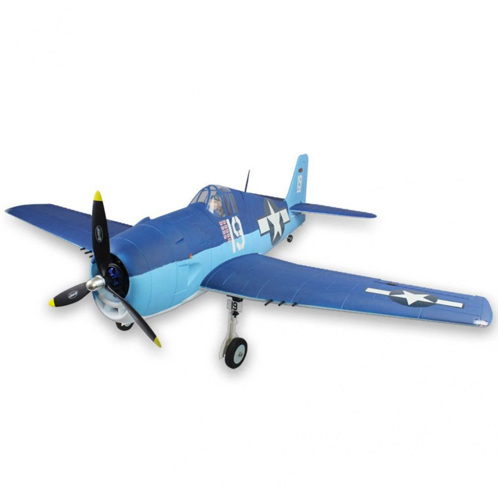 Самолет Dynam F6F Hellcat RLG Brushless RTF 1270 мм 2,4 ГГц (DY8958 RTF)