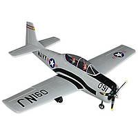 Самолет Dynam T-28 Trojan Brushless RTF 1270 мм 2,4 ГГц (DY8940-Grey RTF)