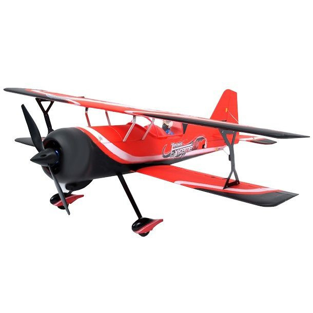 Самолет Dynam Pitts model 12 3D Brushless RTF 1067 мм 2,4 ГГц (DY8947-Red RTF)