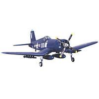 Самолет FMS Mini Chance Vought F4U Corsair RTF 800 мм 3X 2,4 ГГц c 3-х осевым гироскопом (FMS022-3X)