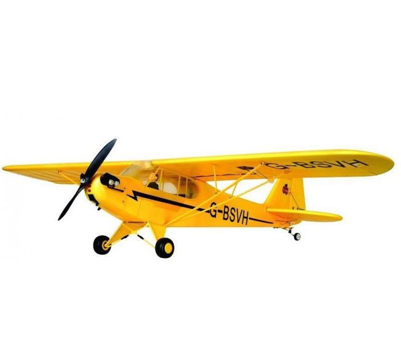Самолет FMS Piper J-3 Cub RTF 1400 мм 2,4 ГГц (FMS035)