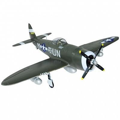 Самолет FMS Republic P-47 Thunderbolt PNP 1400 мм (FMS019-1 Green)