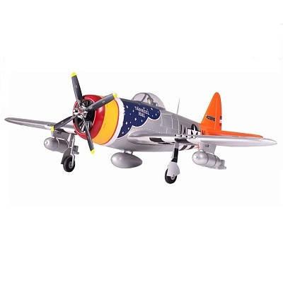 Самолет FMS Republic P-47 Thunderbolt PNP 1400 мм (FMS019-1 Silver), фото 2
