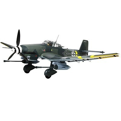 Самолет FMS Stuka Junkers JU 87 G-2 PNP 1420 мм (FMS029)