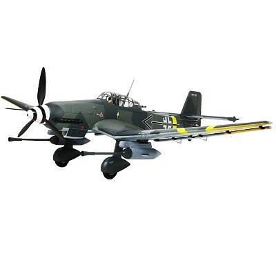 Самолет FMS Stuka Junkers JU 87 G-2 PNP 1420 мм (FMS029), фото 2
