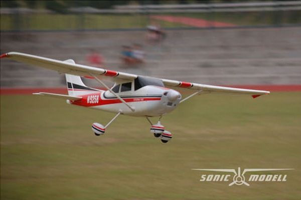 Самолет Sonic Modell Cessna182 V1 Brushless PNP 1410 мм (SONIC-500v1)