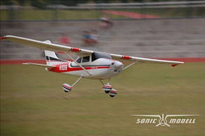 Самолет Sonic Modell Cessna182 V1 Brushless PNP 1410 мм (SONIC-500v1), фото 3