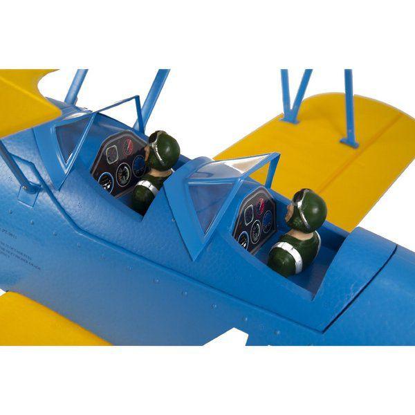 Самолет Sonic Modell PT-17 Stearman Brushless PNP 1200 мм 2,4 ГГц (PT-17-Stearman PNP)