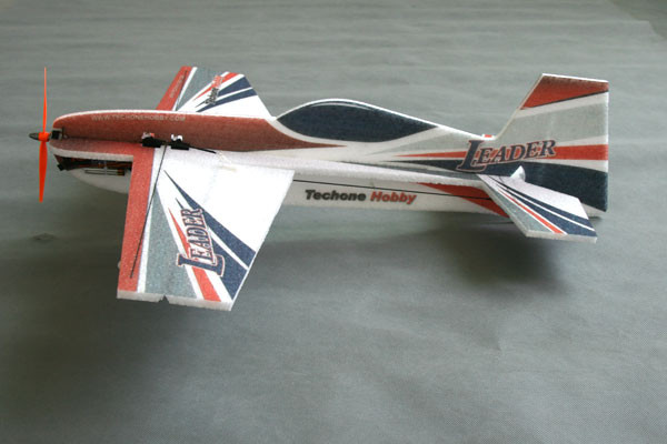 Самолет TechOne Leader 3D 670 мм ARF Leader Micro 3D EPP