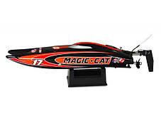 Катамаран Joysway Magic Cat V3.0 RTR 265 мм 2,4 ГГц (JW8108 Red Black), фото 2