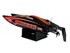 Катамаран Joysway Magic Cat V3.0 RTR 265 мм 2,4 ГГц (JW8108 Red Black), фото 3
