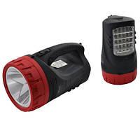Переносной фонарик ,мощный ,с боковой светодиодной подсветкой
